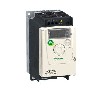 TelemecaniqueVARIABLE SPEED DRIVE .37KW 240V 1PH
