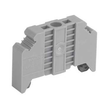 Schneider Electric END BRACKET SCREW-ON FOR 35MM DIN RAILS