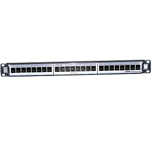 Clipsal PATCH PANEL 24 PORT CAT5E 568AB UTP