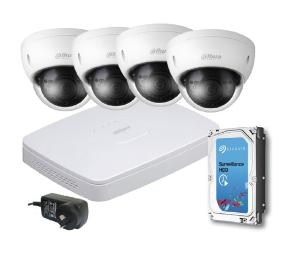 Seadan Security & Electronics 8 CHANNEL NVR KIT - 4XDOME 1XNVR 4XCAT5