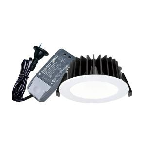 Sunny Australia Lighting (SAL) LED D/L 10W IP44 3/4/6K DIM WH