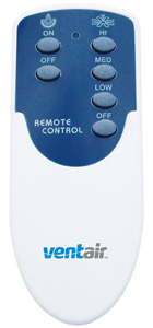 Ventair REMOTE CONTROL KIT 3 SPEED - TRADITIONAL