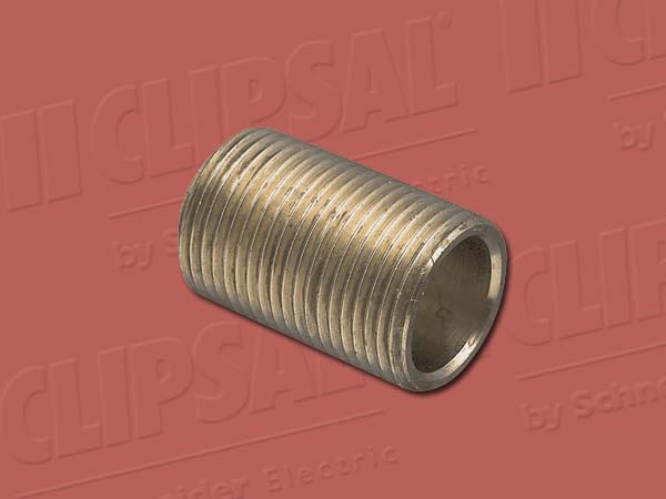 Clipsal NIPPLE BRASS 20MM