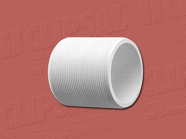 Clipsal SCREWED NIPPLE-50MM GREY