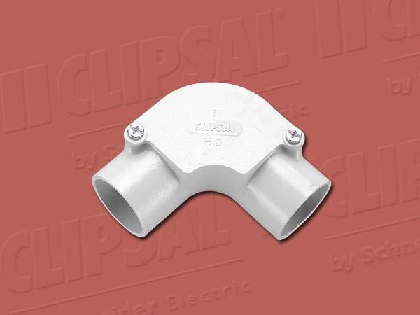 ClipsalINSPECTION ELBOW - 50MM GREY