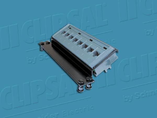 Clipsal TELEPHONE P/P 8XRJ45 2LINES TO 4SOC EACH