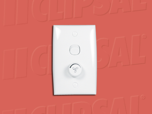 ClipsalFAN CONTROLLER WHITE