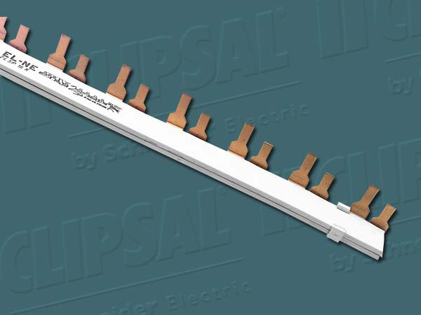 ClipsalBUSBAR INSULATED 2 PHASE 1M
