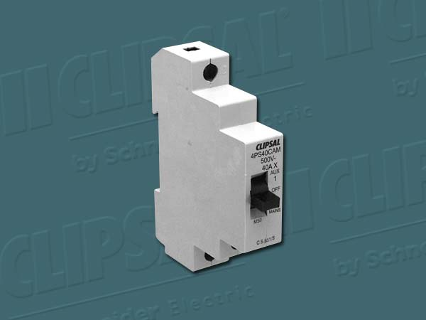 Clipsal ISOLATING SWITCH 1POLE 40A AUX/OFF/MAINS