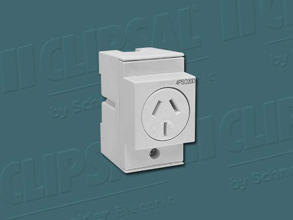 Clipsal SOCKET OUTLET 20A 3 PIN DOUBLE POLE