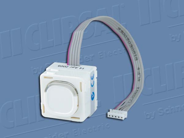 Clipsal C BUS 30 SER MECHANISM SLAVE WHITE