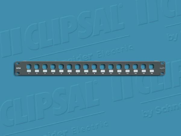 Clipsal PATCH PANEL UTP 16 PORT 30 MECH CONFIG